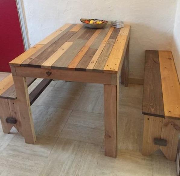mesa de palet comedor6 1