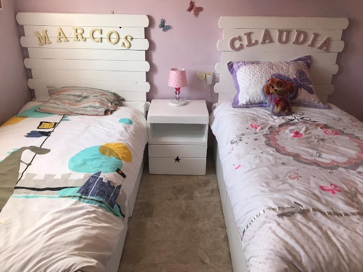 cama de palets confort