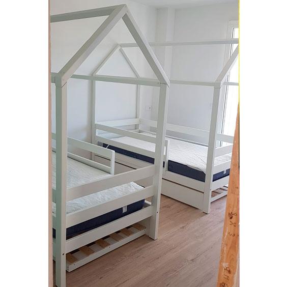 cama casita clasica