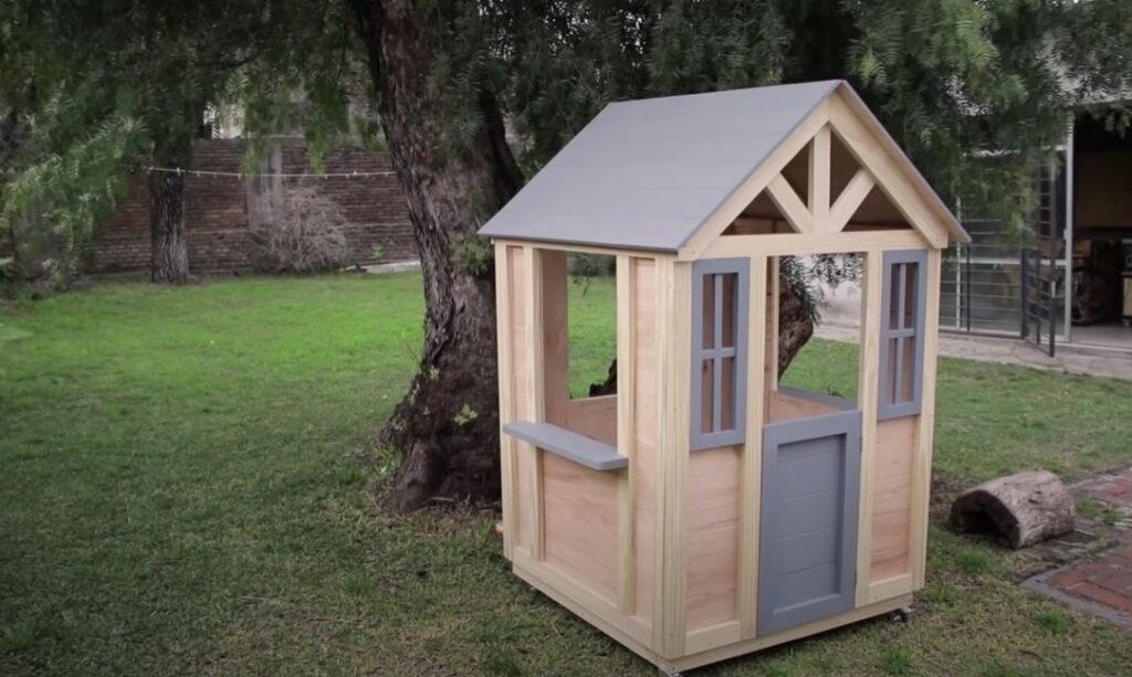 casa de madera para ninos