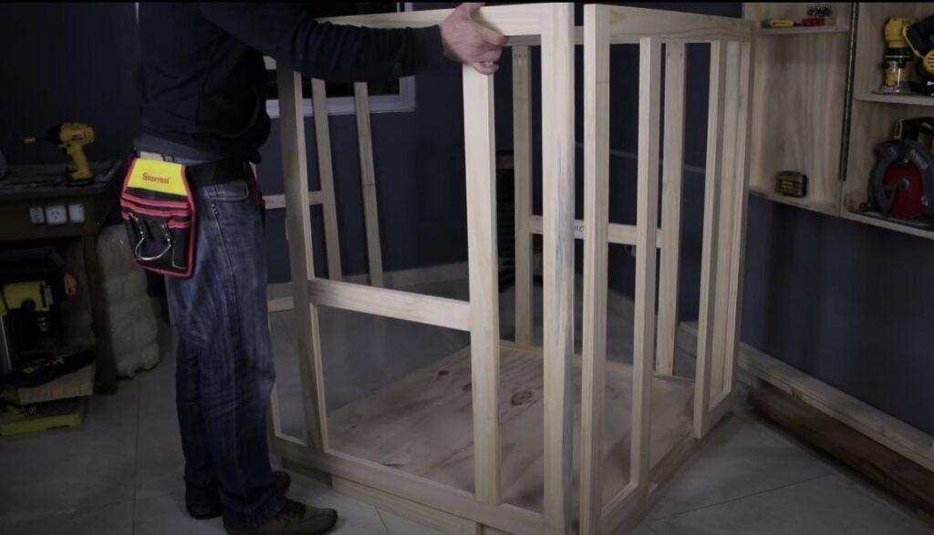 colocar estructura de las paredes