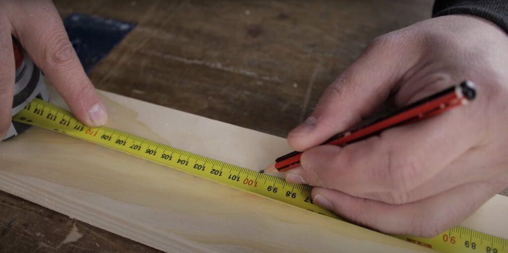 medir la madera